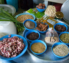 Bubur Lambuk Ingredients