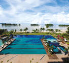 The Danna Langkawi 3-tiered infinity pool
