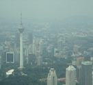 Aerial View of Kuala Lumpur Tower