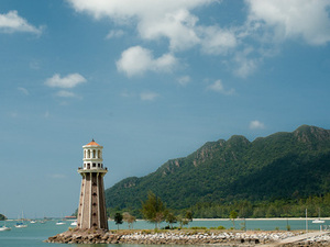 Lighthouse at Telaga Harbour Park