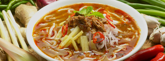 penang asam laksa the tastiness of penang s asam laksa is so widely ...